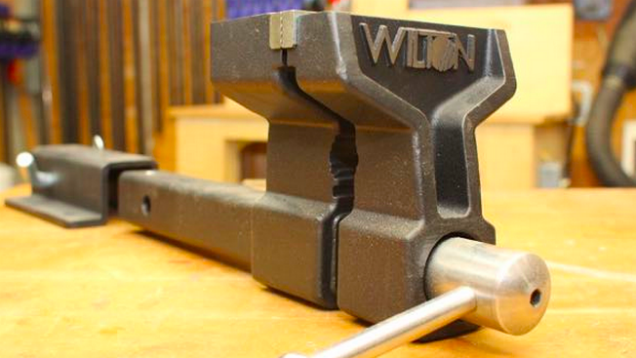 This Portable Bench Vise Brings the Workshop with You