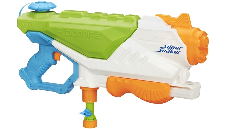 The First Hose-Connected Super Soaker Blasts an Infinite Stream of Water