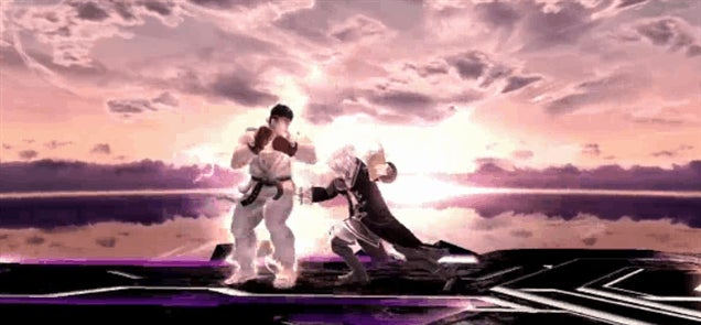 How Street Fighter's Ryu Works In Smash Bros.