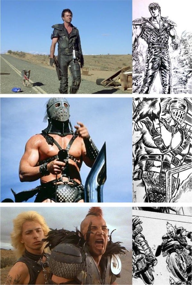 Um No, Mad Max Isn't Ripping Off Fist of the North Star