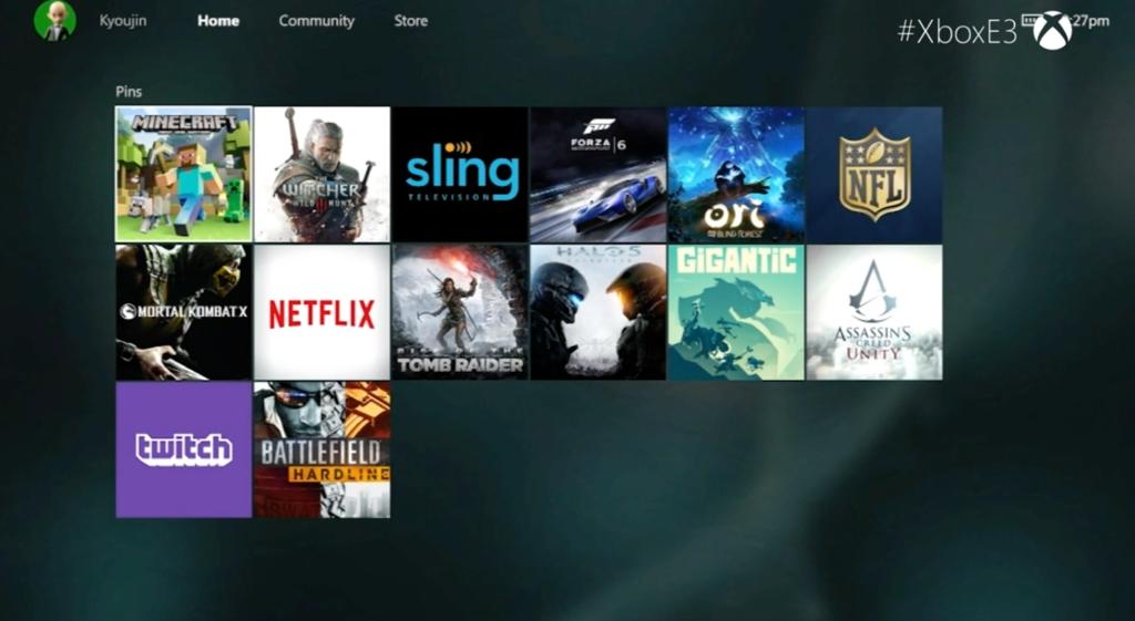 Xbox One Getting New Dashboard UI