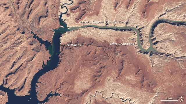 How 15 Years Of Drought Has Changed Lake Powell, In One GIF