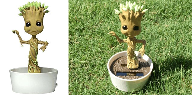 Nope, We're Not Tired of Dancing Groot Toys Yet