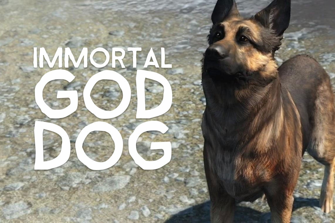 Fallout 4's Dogmeat Cannot Die