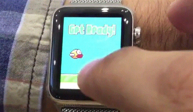 Of Course Someone Hacked Flappy Bird Onto The Apple Watch