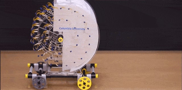 Watch Humidity Power a Miniature Car