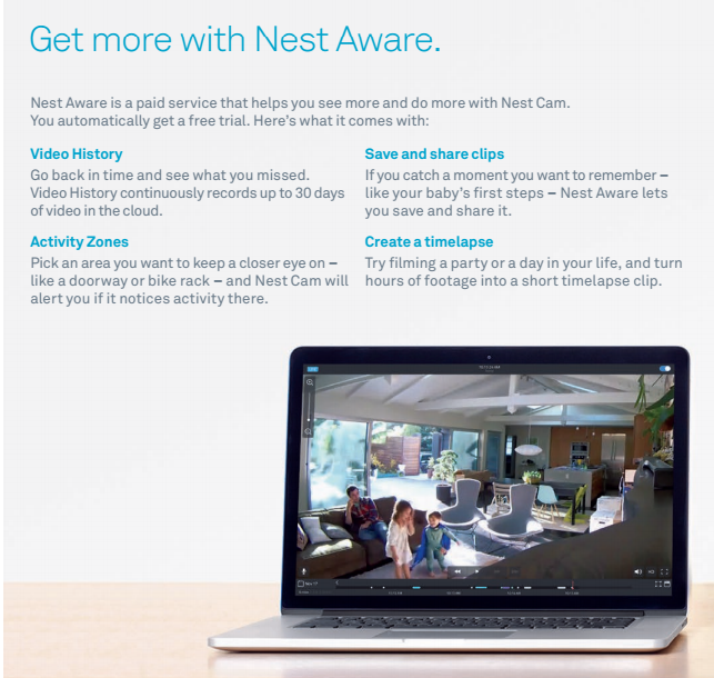 Say Hello to Cam and Aware, Nest's New Home Surveillance System