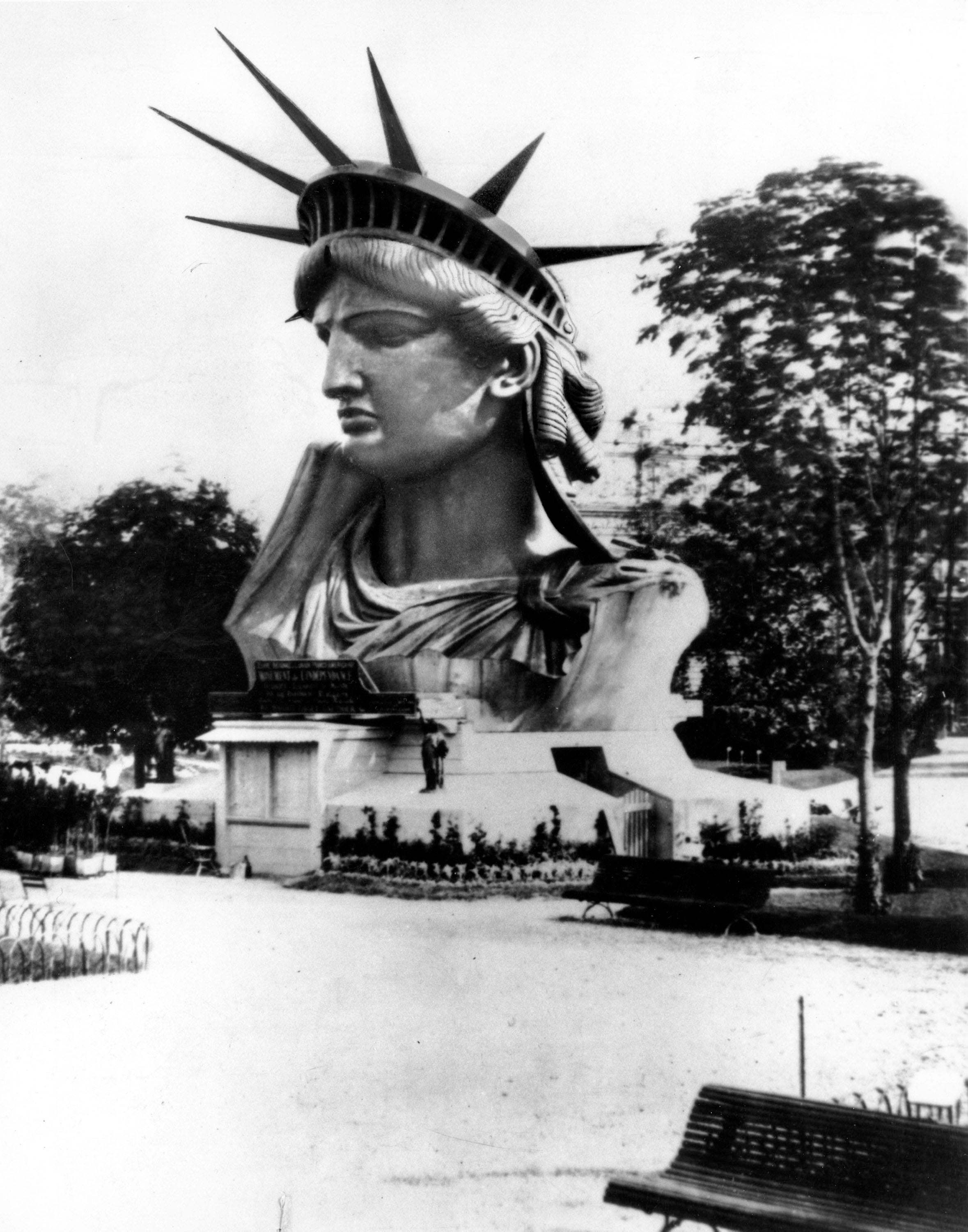 The Statue of Liberty Has Her Own Patent