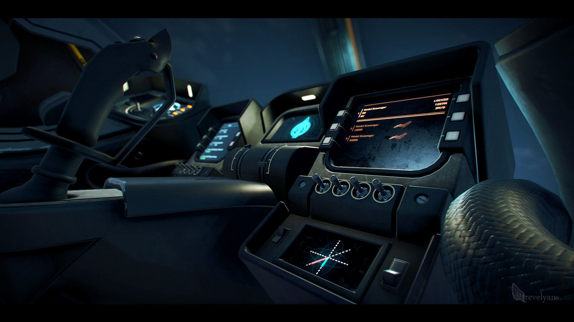 Building A Star Citizen Fighter, Both Inside And Out