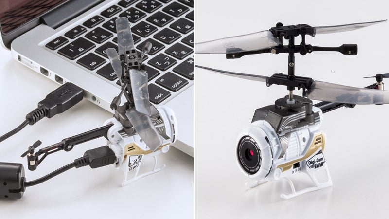 How Did They Squeeze a Camera Into This Tiny RC Helicopter?