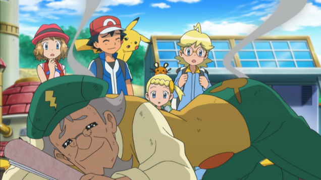 Today's Pokémon Anime Special Was Kind of Nuts