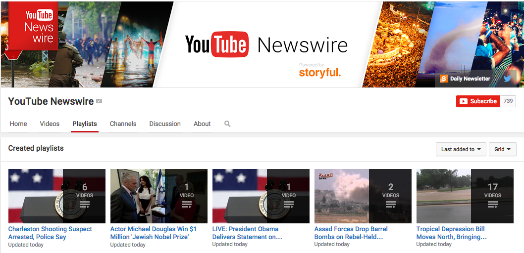 YouTube Wants To Get Into Eyewitness News