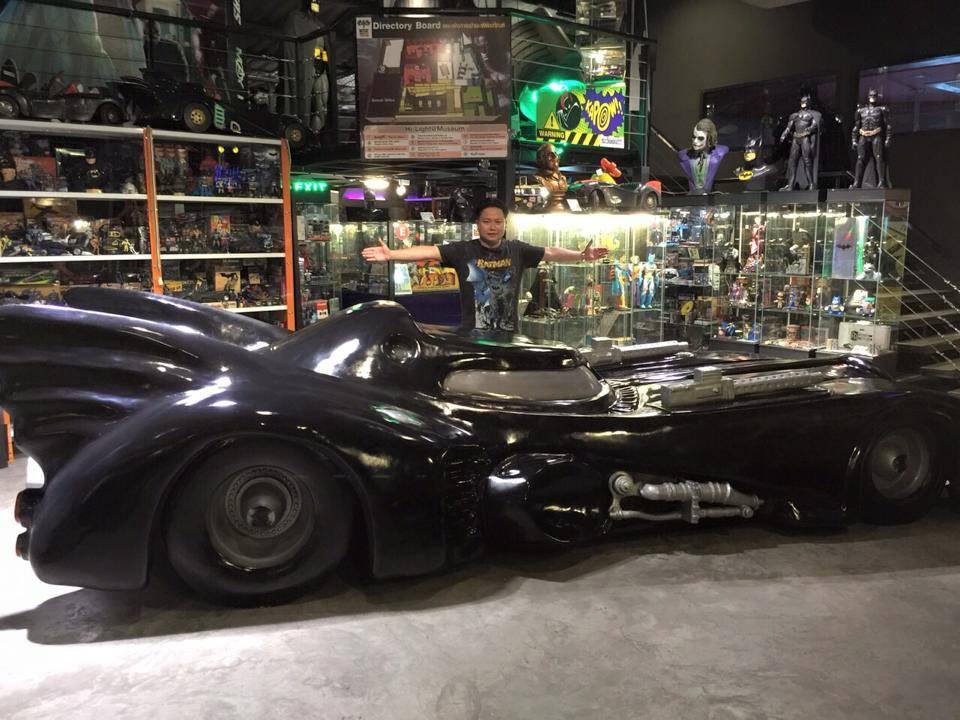 This Man Bought So Much Batman Stuff