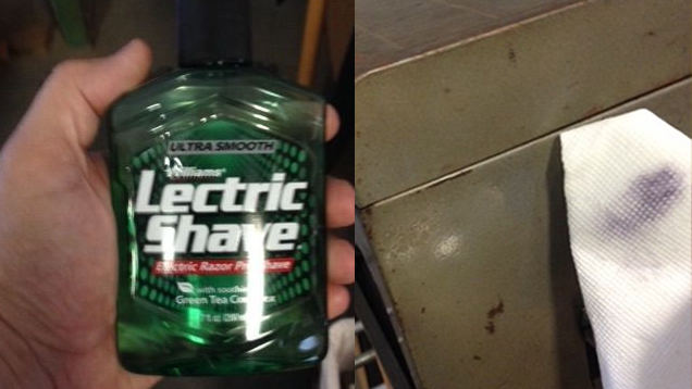 Restore Old Tools and Clean Stained Surfaces with Pre-Shave Oil