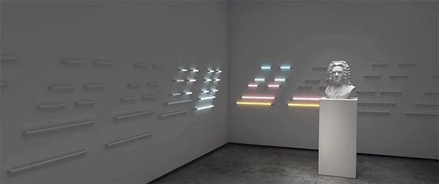 Artist Transforms Classical Music Into Stunning Fluorescent Light Show