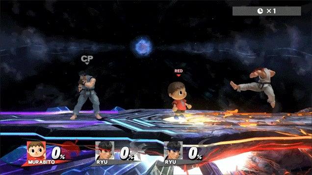 Ryu Is Good at Smash Bros. Glitches
