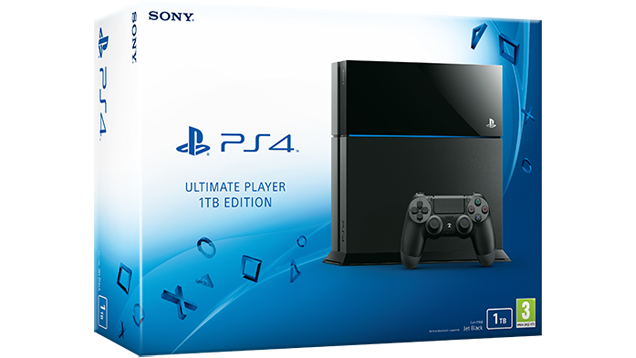 The 1TB PlayStation 4 Is Now Official