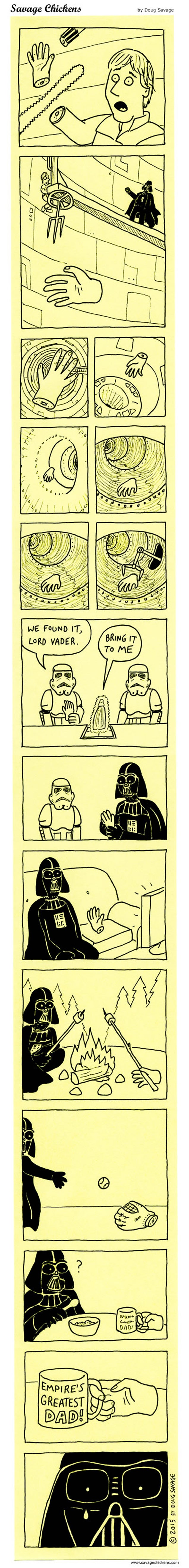 What Really Happened With Luke's Hand After His Duel With Darth Vader