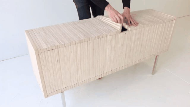 These Crazy Transforming Cabinets Use Old-School Woodworking Tricks