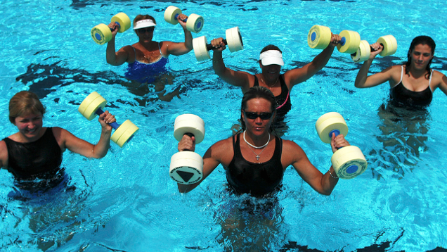 Water Aerobics Is Tougher Than It Looks (and Feels)