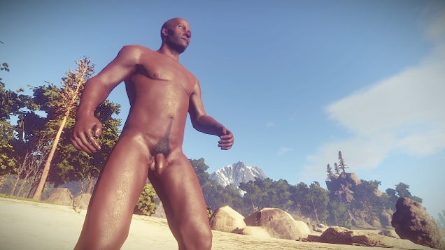 Rust Randomizes Penis Length, Players Compare Sizes