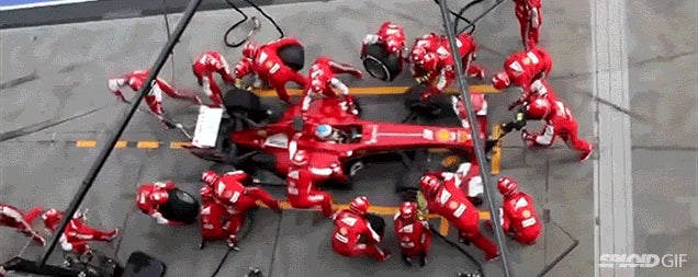 Video compares pit stops in F1 Racing, NASCAR, Indy Car and more