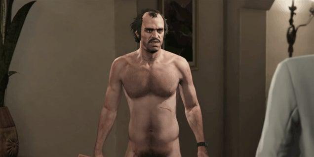Trevor Loses Pants, Improves GTA V Cutscenes