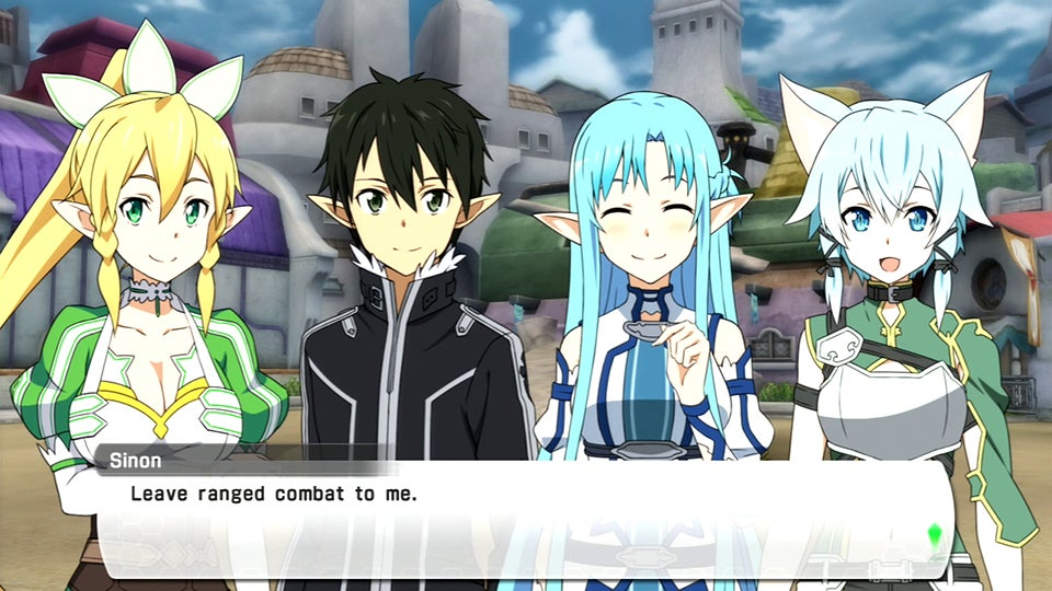 Sword Art Online: Lost Song: The Kotaku Import Preview