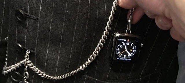 Tom Ford Made A Steampunk Apple Pocket Watch