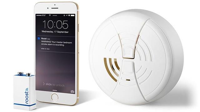 Pre-order The Roost: A 9-Volt That Gives Smoke Detectors Notifications