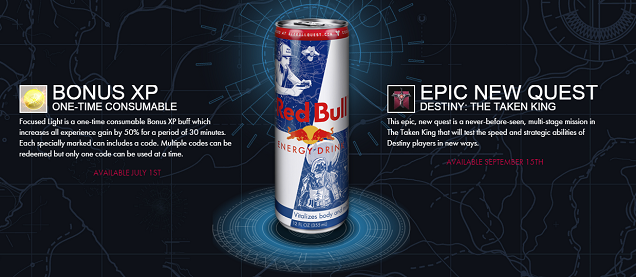 New Destiny Quest Is Exclusive To... Red Bull
