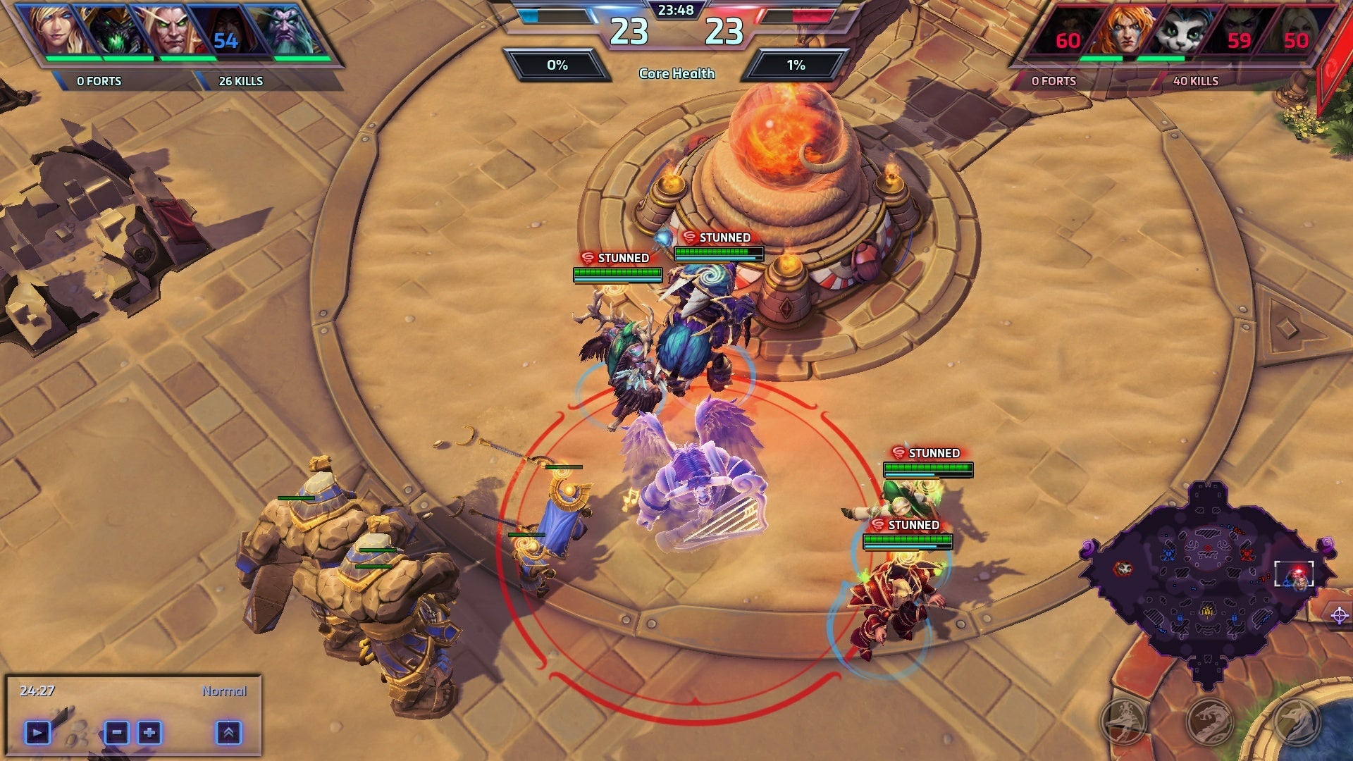 An Epic Near-Death Heroes Of The Storm Win