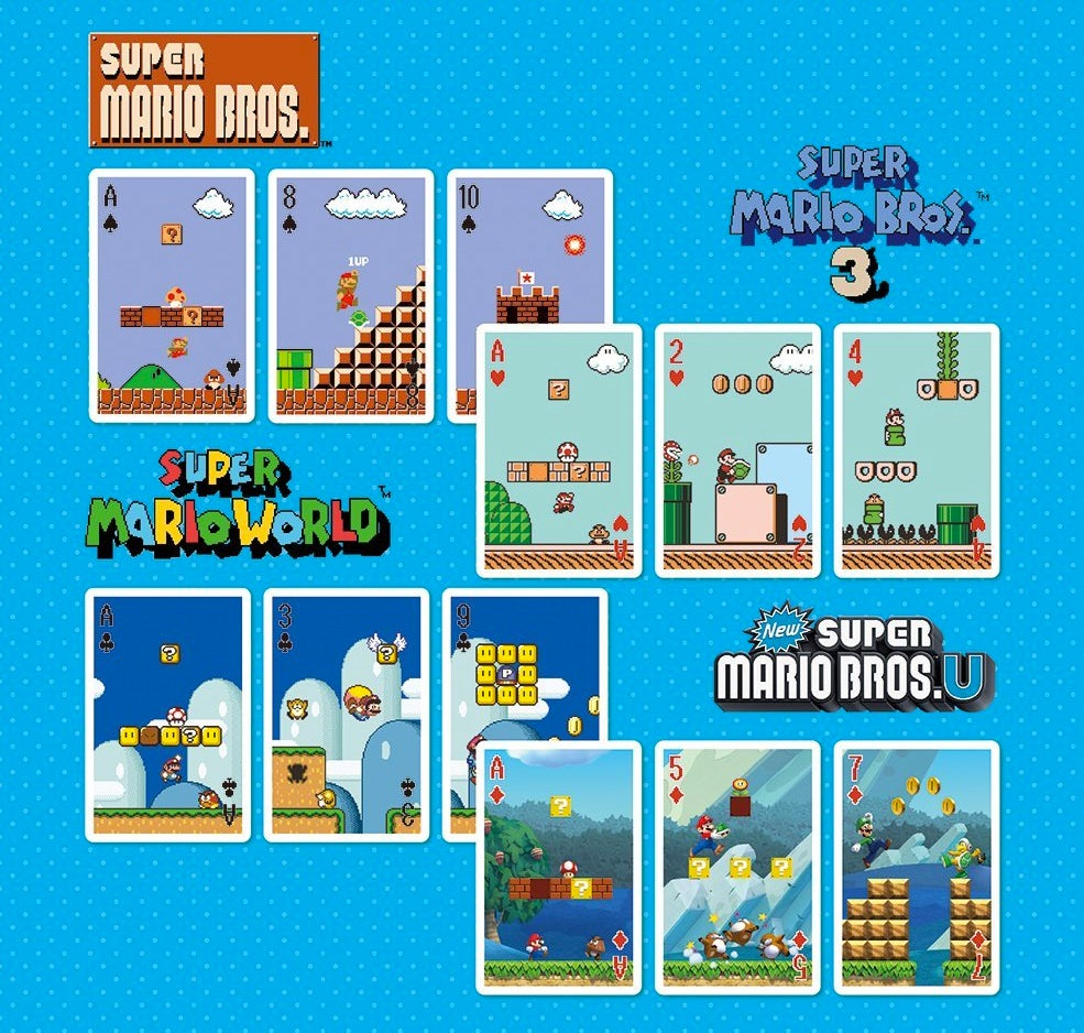 Solitaire Is Less Depressing When Played With This Super Mario Deck