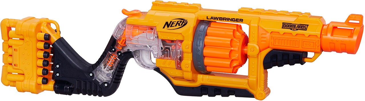 Nerf's New See-Through Blasters Reveal How Their Firing Mechanisms Work
