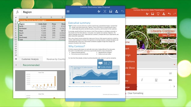 Microsoft Office for Android Now Available to All