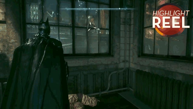 When Batman's Grappling Hook Goes Wrong