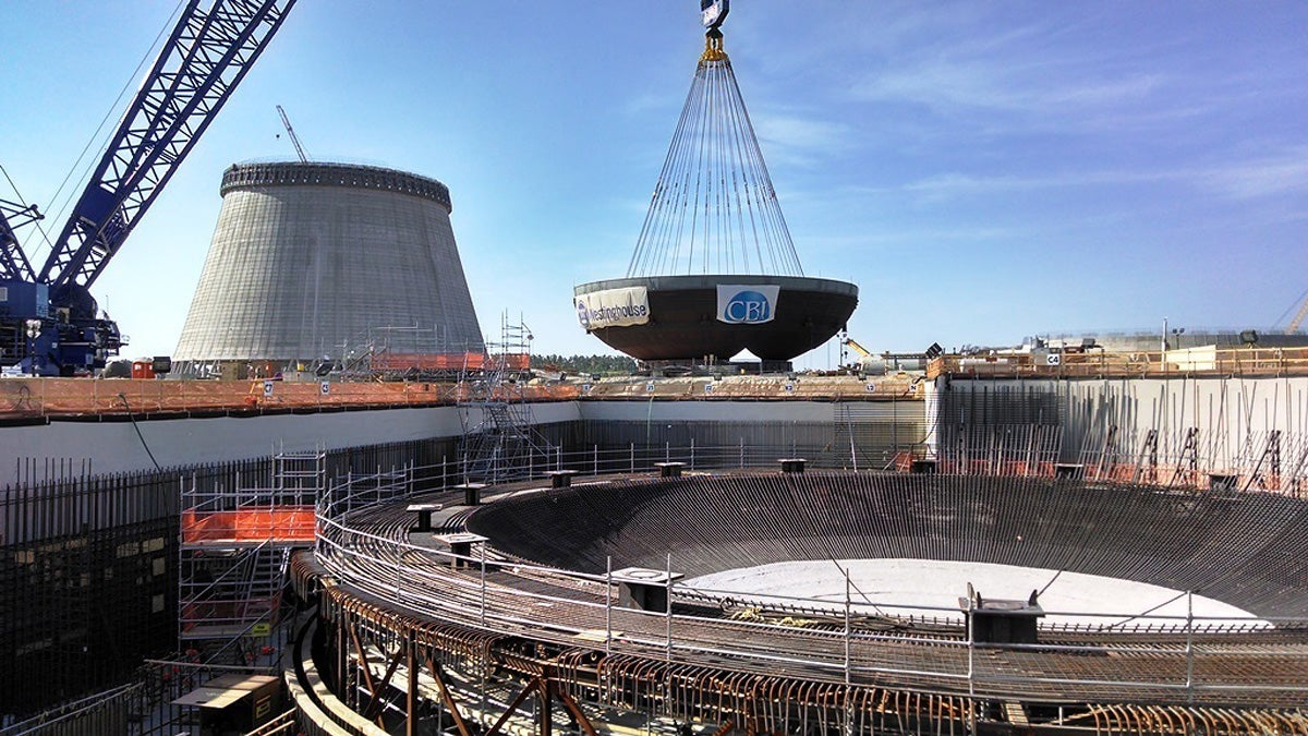 America's First New Nuclear Plant in 30 Years Is Well Under Way