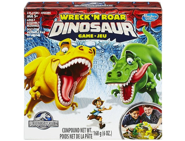 Dinosaurs Chomping on Play-Doh People Sounds Like a Really Great Game