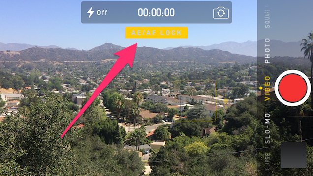 Improve iPhone Video Quality by Locking Focus and Exposure