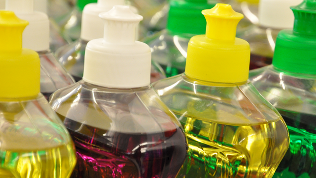 Use Dish Soap to Get Grease Stains Out of Your Clothes