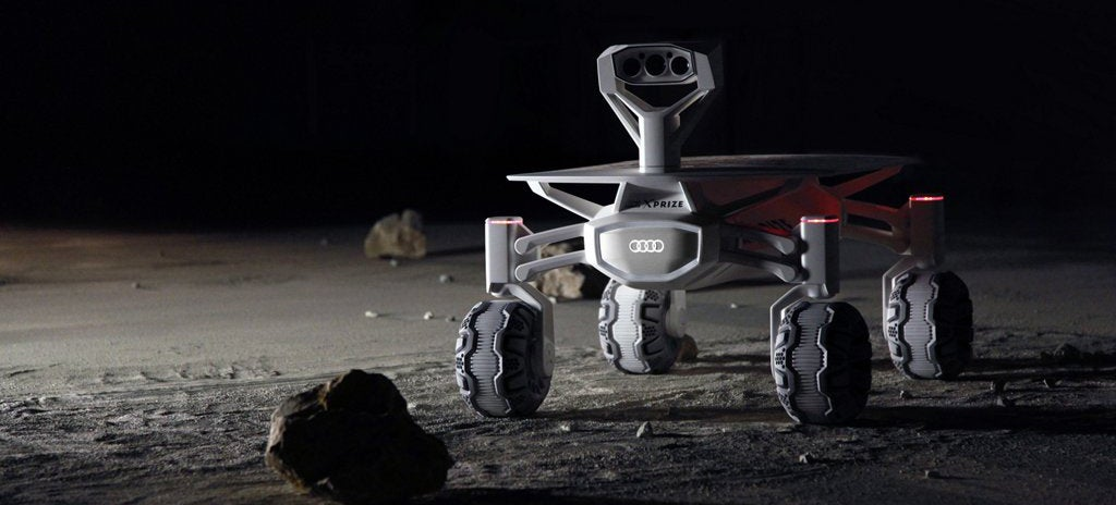Audi's Developing a Moon Rover For Google's Lunar Xprize
