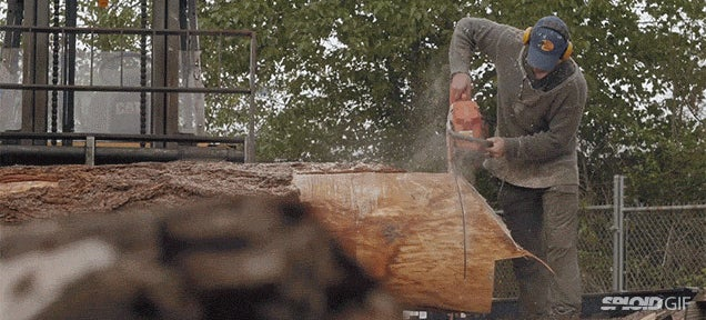 Video: An interesting look at a lumber shop