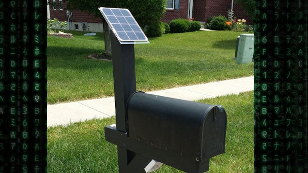 Build a Solar Powered Mailbox Notification System