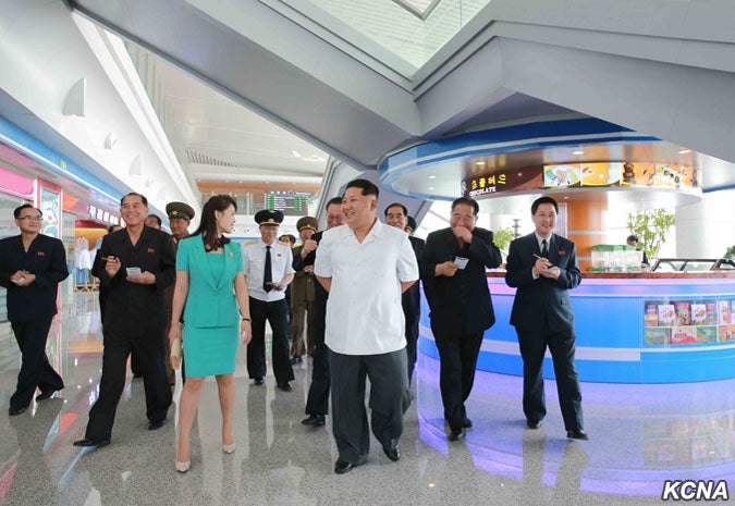 North Korea's New Airport Has a Chocolate Fountain and a Dark History