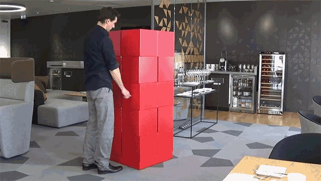 You'll Spend Hours Transforming This Expanding Cabinet Just For Fun