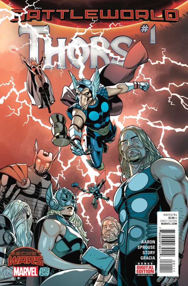 Marvel Comics Has Turned Thor Into The Wire And It's Awesome