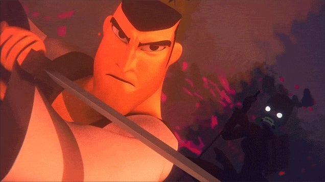 Fan Animation Pays Tribute To Samurai Jack