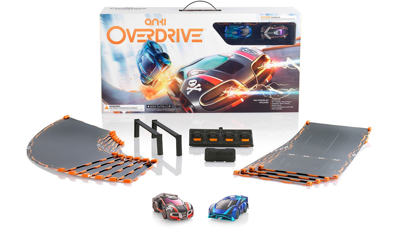 Anki's Officially Killed Slot Cars With Overdrive's Customisable Tracks