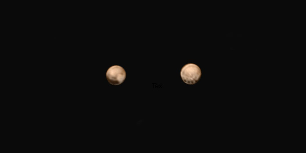What Are the Strange Spots on These Brand New Images of Pluto?