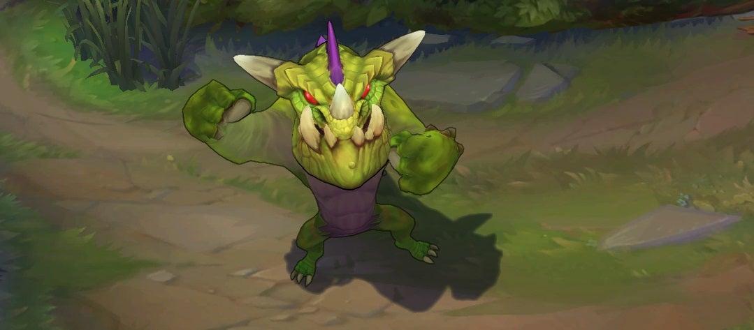 League Of Legends' Gentleman Gnar Skin Is Disgustingly Cute